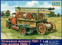 ПМГ-1 пожарная машина - UM-510 Unimodel 1:48