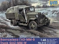ГАЗ-ММ-В советский грузовик - UM-512 Unimodel 1:48