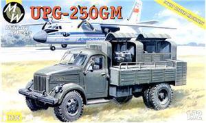 Грузовик ГАЗ 51 UPG-250 (аэргидравлика). Масштаб 1/72