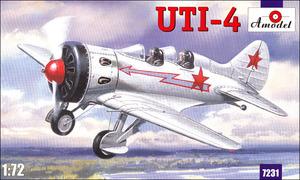 УТИ-4 - 7231 Amodel 1:72