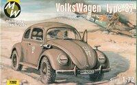 Автомобиль VW type 87. Масштаб 1/72