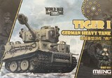 Tiger I German Heavy Tank - WWT-001 Meng Egg