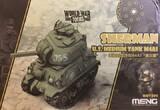 WW Toons Sherman US Medium Tank M4A1 - WWT-002 Meng Egg