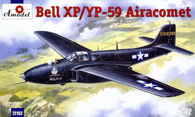 Bell XP/YP-59 - 72152 Amodel 1:72
