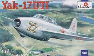 Як-17 - 7282 Amodel 1:72