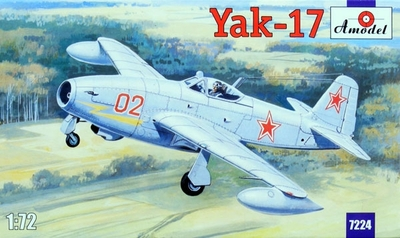 Як-17 - 7224 Amodel 1:72