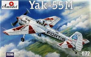 Як-55М - 72205 Amodel 1:72