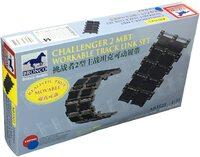 Challenger 2 (Челенджер-2) подвижные траки - AB3523 Bronco 1:35