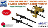 German Infrared Night Vision Devices МГ-42 с ПНВ - AB3577 Bronco 1:35