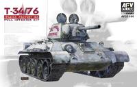 Т-34-76 (T-34/76) обр.1943 средний танк - AF35144 AFV Club 1:35