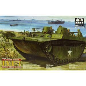 LVT-4 Water Buffalo Late десантный катер - AF35198 AFV Club 1:35