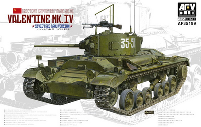Valentine Mk.IV (Валентайн) легкий танк - AF35199 AFV Club 1:35