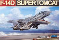 F-14D Supertomcat палубный истребитель - 88007 AMK 1:48