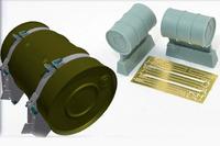 200 л. топливные бочки с креплением для Т-54/Т-55 - B35150 Miniarm 1:35