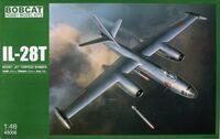 Ил-28T бомбардировщик-торпедоносец (Il-28T Beagle Torpedo Bomber) - 48006 Bobcat 1:48