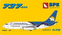 737-200 Canadian North. 7202 Big Plane Kit 1:72