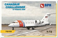 Challenger C-143A/CL-604. 7210 Big Plane Kit 1:72
