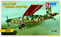 Pilatus Turbo Porter. 7212 Big Plane Kit 1:72