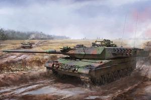 Leopard 2 A5/A6 основной танк - BT-002 Border Model 1:35