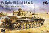 Pz.Kpfw.IV Ausf.F2 & G средний танк - BT-004 Border Model 1:35