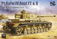 Pz.Kpfw.IV Ausf.F2 & G средний танк - BT-004 Border Model 1:35