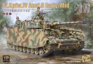 Pz.Kpfw.IV Ausf.H Early/Mid средний танк - BT-005 Border Model 1:35