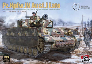 Pz.Kpfw.IV Ausf.J Late средний танк - BT-008 Border Model 1:35