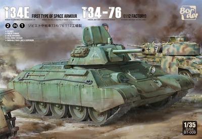 Т-34Э экранированный средний танк - BT-009 Border Model 1:35