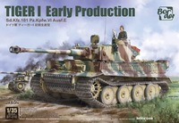 Tiger I Early тяжелый танк - BT-010 Border Model 1:35