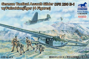 German Tactical Assault Glider DFS 230 B-1 - CB35039 Bronco 1:35