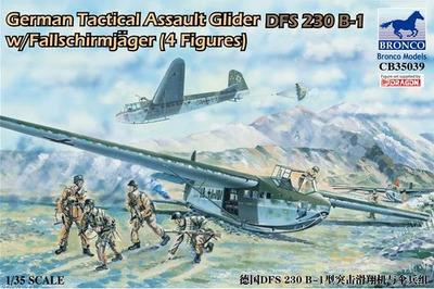 German Tactical Assault Glider DFS 230 B-1 - CB35039 Bronco 1:35