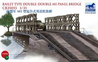 Мост Bailey Type Double-Double M1 Panel Bridge - CB35055 Bronco 1:35