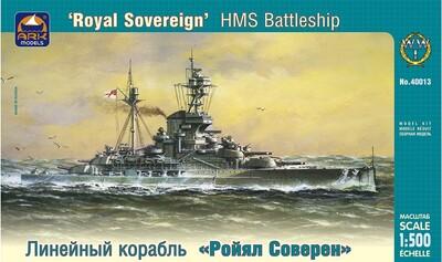 Английский линкор Ройял Соверен - 40013 ARK-Models 1:400