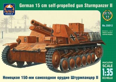 150-мм самоходное орудие Штурмпанцер II - 35012 ARK-Models 1:35