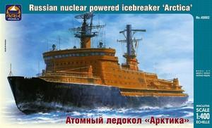 Атомный ледокол Арктика - 40002 ARK-Models 1:400
