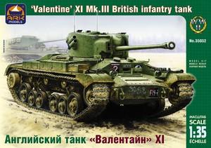 Английский танк Валентайн XI - 35032 ARK-Models 1:35