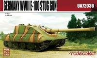 Е-100 проект САУ. UA72036 Modelcollect 1:72