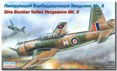 Вендженс Мк.II Пикирующий бомбардировщик (Vengeance Mk.II) - 72264 Восточный Экспресс 1:72