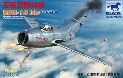 МиГ-15бис (Fagot-B) истребитель - FB4013 Bronco 1:48