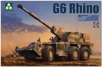 SANDF G6 Rhino 155-мм самоходная гаубица - 2052 Takom 1:35