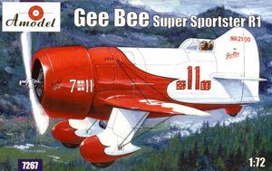 Gee Bee R1 Super Sportster - 7267 Amodel 1:72