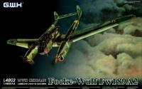 Fw 189 A-2 (Рама) самолет разведчик-корректировщик - L4803 GWH 1:48