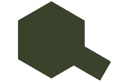 XF-81 Dark Green 2 RAF - Краска акриловая матовая 10 мл 81781 Tamiya