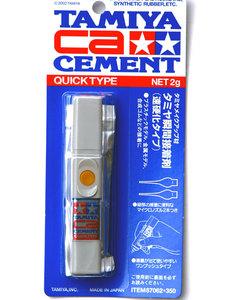 Клей цианакрилатный (Quick type) - 87062 Tamiya
