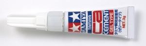 Клей цианакрилатный гель 3г - 87091 Tamiya