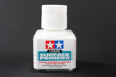 Шпаклевка жидкая (Liguid Surface Primer 40ml) белая 87096 Tamiya