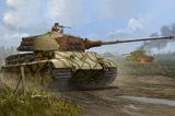 Pz VI Tiger II Henschel (Королевский тигр) тяжелый танк - 84533 Hobby Boss 1:35