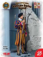 Швейцарский гвардеец стражи Ватикана - 16002 ICM 1:16
