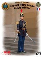 Офицер Республиканской гвардии Франции - 16004 ICM 1:16