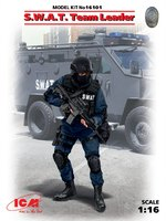 Командир группы SWAT - 16101 ICM 1:16